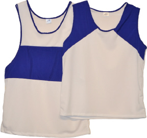 singlets with royal panels