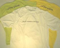 DRS tee shirts