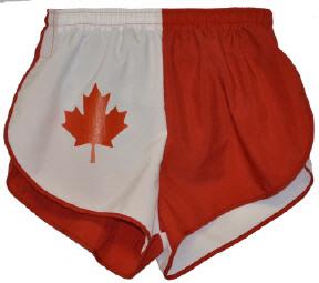 Canada flag short