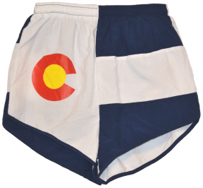 Colorado flag short