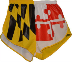 Maryland flag short