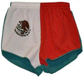 Mexico flag short