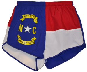 North Carolina flag short