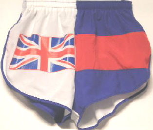 Union Jack flag short