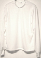 long sleeve white tshirt