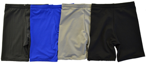 colors lycra shorts