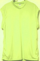 lime sleeveless tshirt