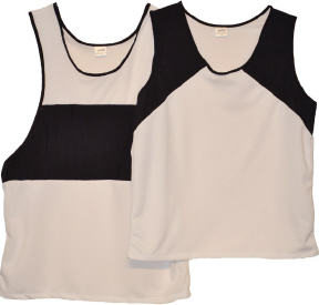 singlets with black panels