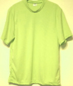 short sleeve lime tshirt
