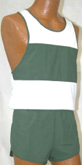 men's supplex short and singlet