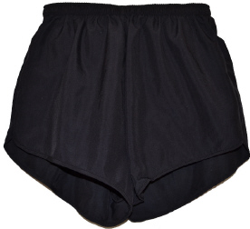 black supplex short