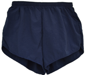color navy shorts