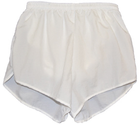 white supplex short