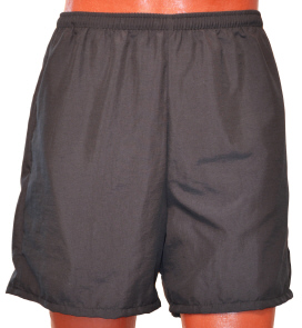 black walking short